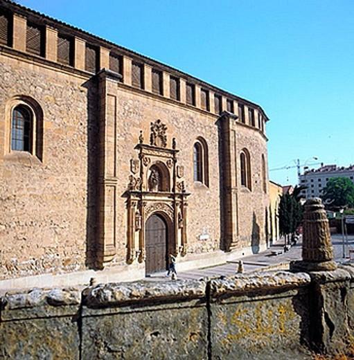 Convent of Santa María de las Dueñas, Salamanca. Castilla-León, Spain : Stock Photo