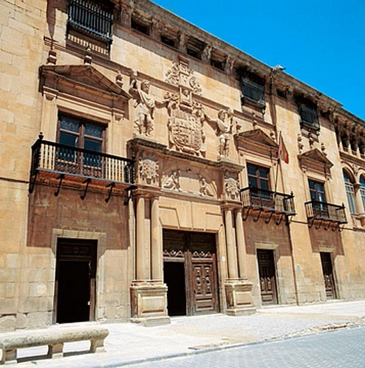 Renaissance Palace of the Counts of Gomara (16th century), Soria. Castilla-Leon, Spain : Stock Photo