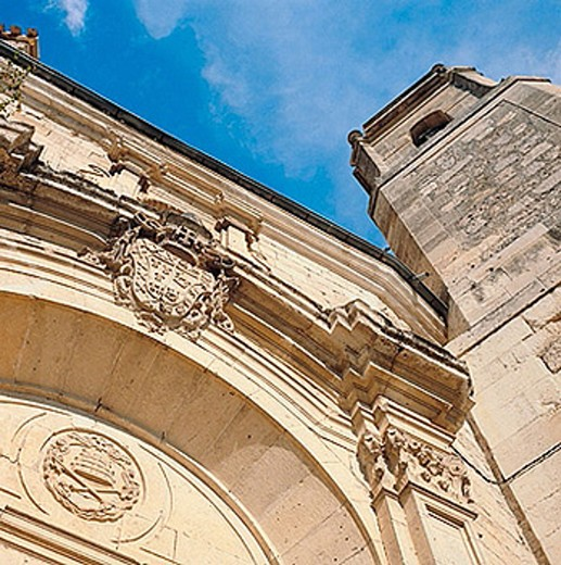 St. Peter´s church (17th century), Cuenca. Castilla-La Mancha, Spain : Stock Photo