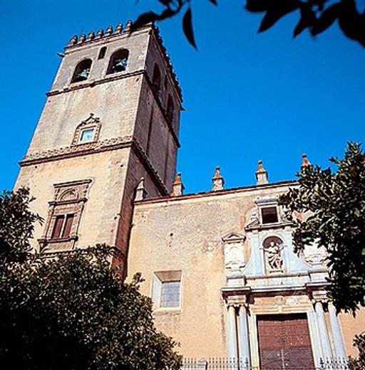 St. John´s cathedral (13th-15th century), Badajoz. Extremadura, Spain : Stock Photo