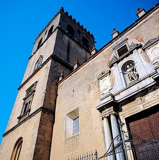 St. John´s cathedral (13th-15th century), Badajoz. Extremadura, Spain : Stock Photo
