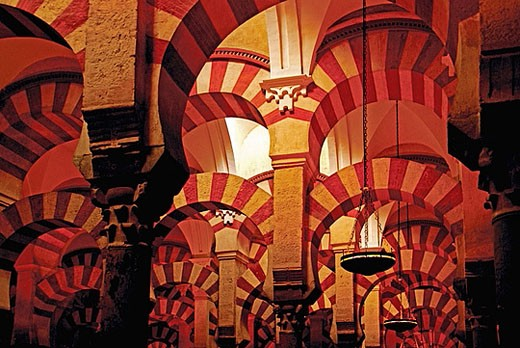 Stock Photo: 1566-377070 Mosque Cathedral at Cordoba. Andalucia. Spain.
