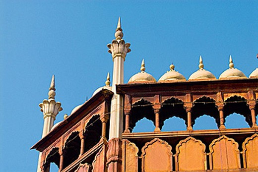 Jama Masjid Mosque, Delhi, India : Stock Photo
