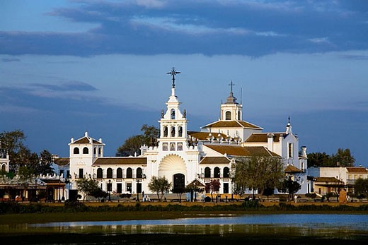 Stock Photo: 1566-379440 El Rocío, Almonte. Huelva province, Andalusia. Spain