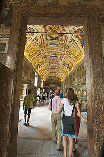Stock Photo: 1566-379829 Rome. Italy.  Vatican City.  Vatican Museums