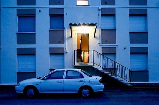 Stock Photo: 1566-381374 Apartments. Calella de Palafrugell. Girona province. Spain