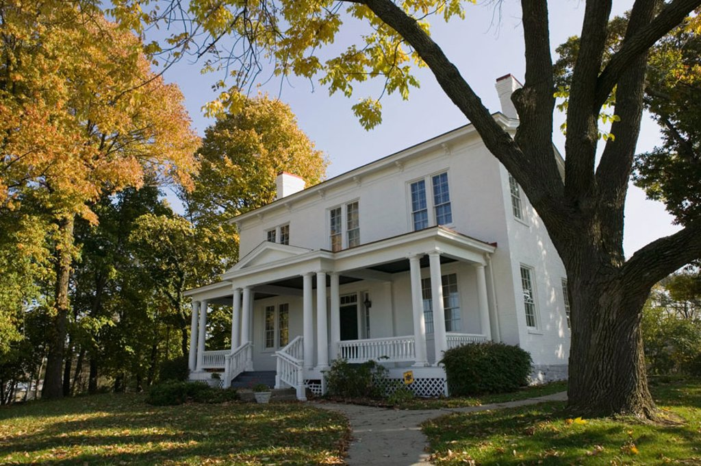 Harriet Beecher Stowe House. Home of the abolitionist author of Uncle Tom´s Cabin. Cincinnati. Ohio. USA. : Stock Photo