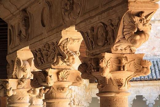 Spain, Castilla Leon, Salamanca,  Convento de las Duenas convent : Stock Photo