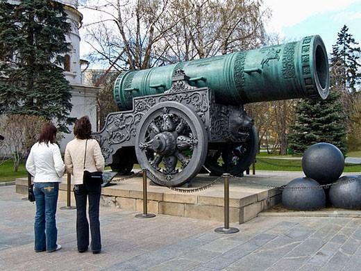 Tsar´s cannon. Kremlin. Moscow. Russia : Stock Photo