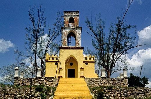 Aké. Yucatán, México. : Stock Photo