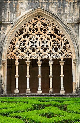 Stock Photo: 1566-385324 Portugal, Estremadura, Batalha, Santa Maria da Vitoria monastery