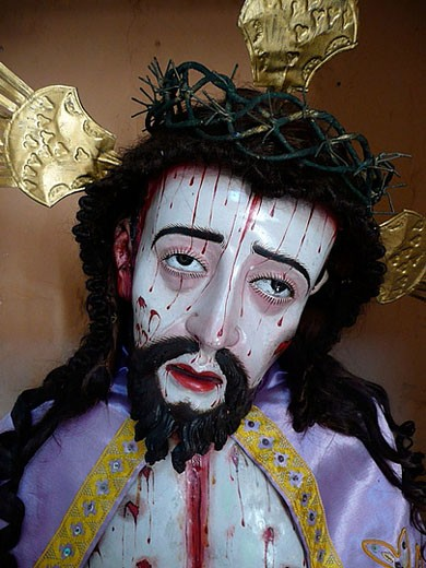 Christ Passion. Saint Catherine of Siena Monastery, Arequipa. Peru. : Stock Photo