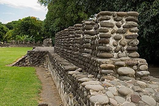 Stock Photo: 1566-386725 Zempoala. Veracruz, Mexico