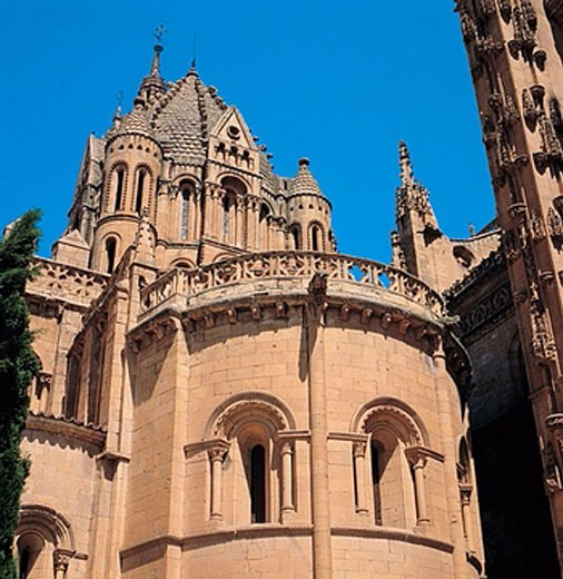 Stock Photo: 1566-386923 Old cathedral (12th-13th century), Salamanca. Castilla-Leon, Spain