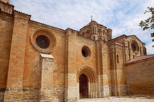 Stock Photo: 1566-387834 Collegiate church of Santa Maria la Mayor (12th-13th century). Toro. Zamora province, Spain