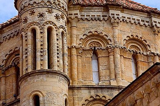 Stock Photo: 1566-387836 Collegiate church of Santa Maria la Mayor (12th-13th century). Toro. Zamora province, Spain