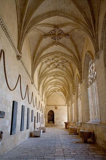 Burgo de Osma cathedral. Soria, Castilla y León. Spain. : Stock Photo