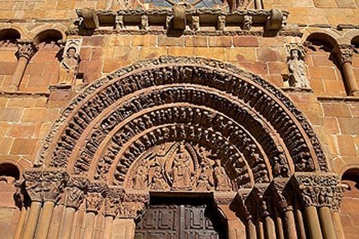 Santo Domingo church. Soria. Castilla y León. Spain. : Stock Photo