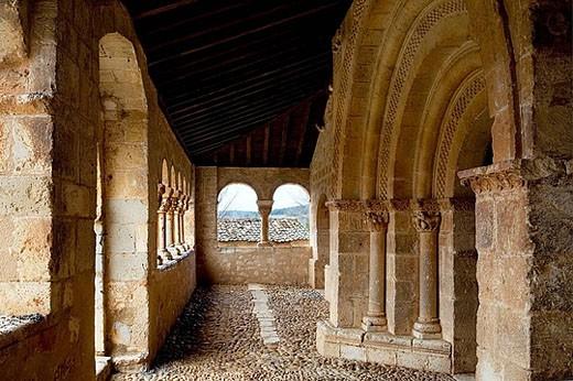 Stock Photo: 1566-388260 Iglesia de San Miguel Arcángel. Andaluz. Soria, Castilla y León. Spain.