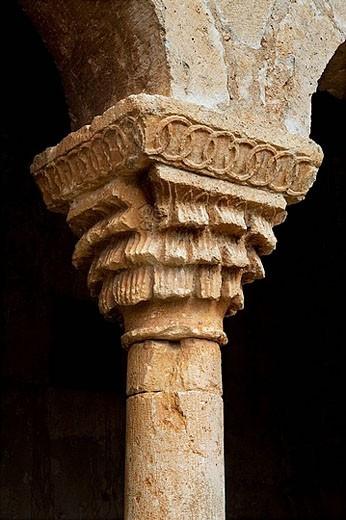 Stock Photo: 1566-388263 Iglesia de San Miguel Arcángel. Andaluz. Soria, Castilla y León. Spain.