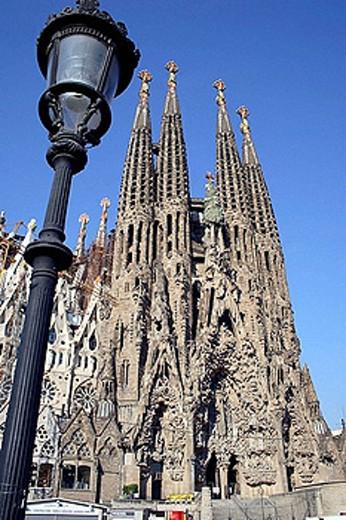 Stock Photo: 1566-388979 Sagrada Familia by Gaudí. Barcelona. Spain