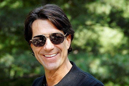 40-45 year old caucasian male, wearing sunglasses : Stock Photo