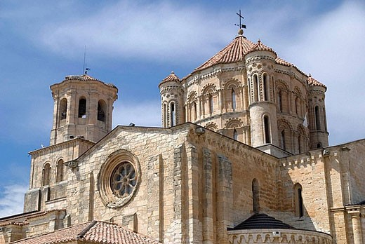 Collegiate church of Santa Maria la Mayor (12th-13th century). Toro. Zamora province, Spain : Stock Photo