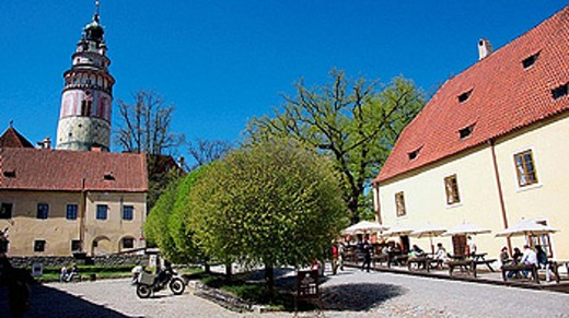 Stock Photo: 1566-390993 Cesky Krumlov. Czech Republic.