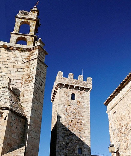 Stock Photo: 1566-391880 Caceres, Extremadura, Spain