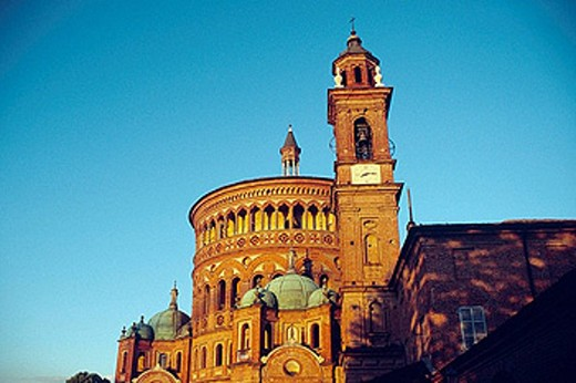 Santa Maria della Croce´s church. Crema. Lombardy, Italy : Stock Photo
