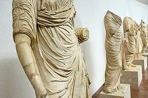 Olympia Museum. Peloponnesus. Greece. : Stock Photo