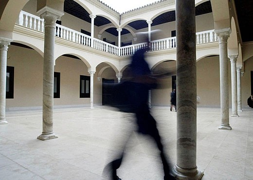 Picasso Museum. Malaga. Andalusia, Spain. : Stock Photo
