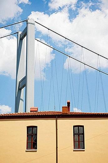 Ataturk Bridge, Istanbul, Turkey : Stock Photo