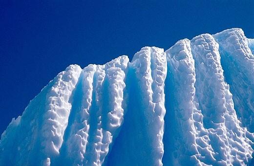 Stock Photo: 1566-393212 Detail of iceberg, Antarctica