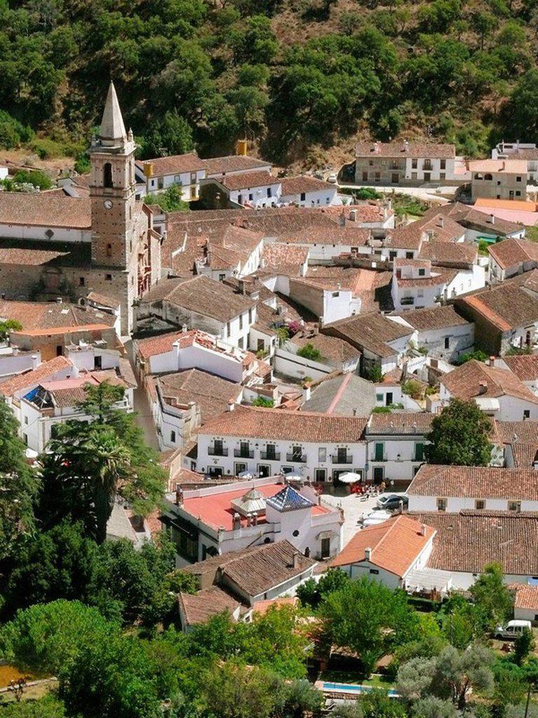 Stock Photo: 1566-393319 Alájar, Andalucia, Spain
