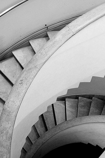 Stairs. Vatican Museums. Vatican City. Rome. Italy : Stock Photo