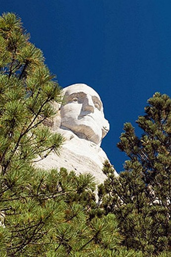 Stock Photo: 1566-393767 Mount Rushmore National Memorial, South Dakota, USA