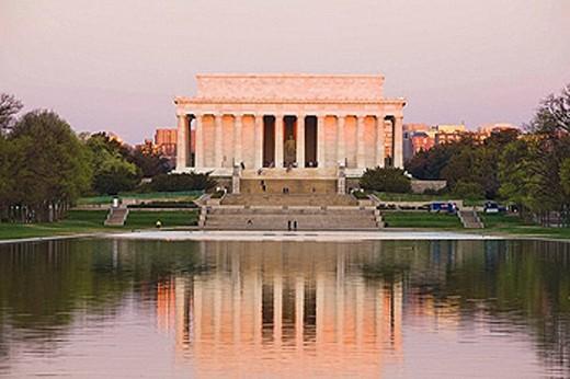 Lincoln Memorial. Washington DC. USA. : Stock Photo