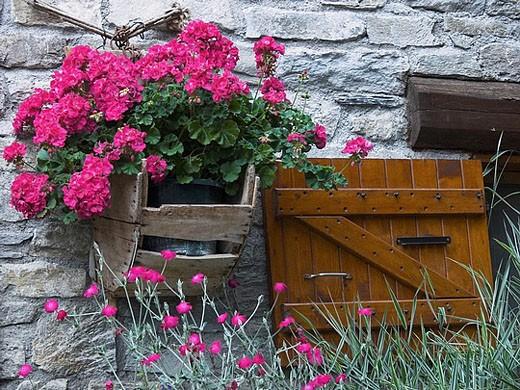 Châtelard, La Rosière. Savoie, France : Stock Photo