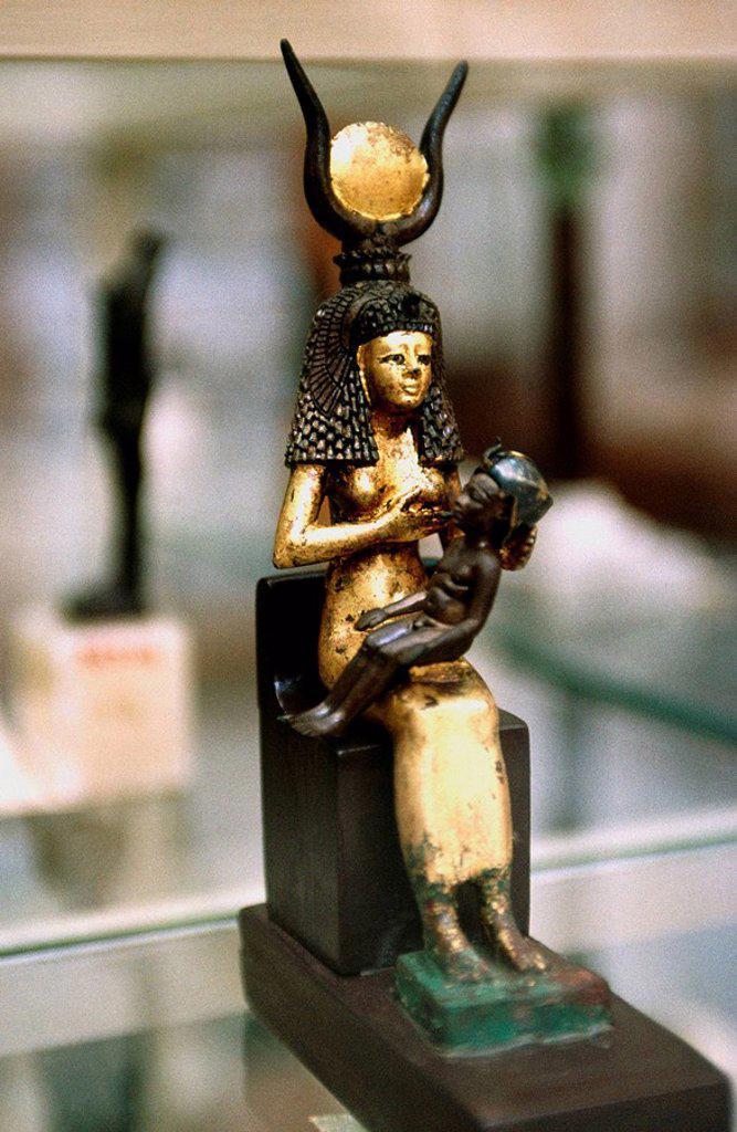 Stock Photo: 1566-395331 Tutankhamun´s Treasure. Cairo Museum. Egypt
