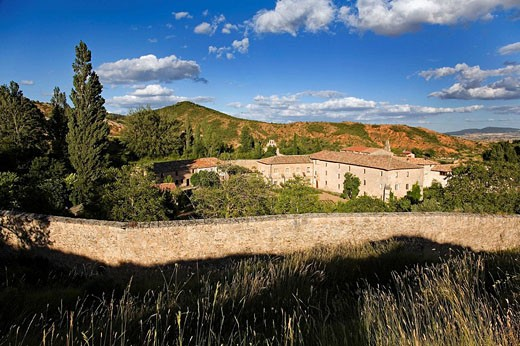 Stock Photo: 1566-396232 Monastery of Assumption or Convent of Santa Clara. Castil de Lences. Burgos province, Spain
