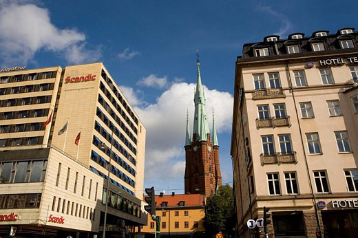 Stock Photo: 1566-397251 Sta Clara Kirka, Stockholm, Sweden