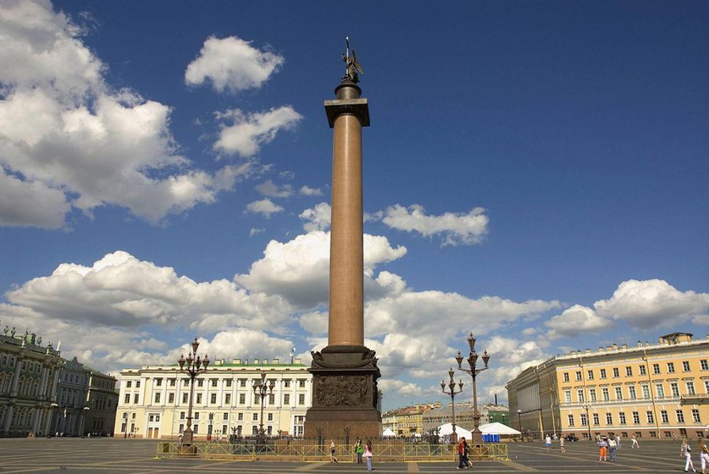 Stock Photo: 1566-399942 Russia. St. Petersburg. Alexander Column.
