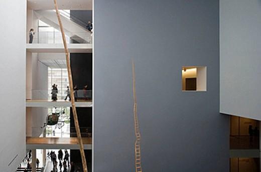 Museum of Modern Art, midtown Manhattan, NYC, USA : Stock Photo