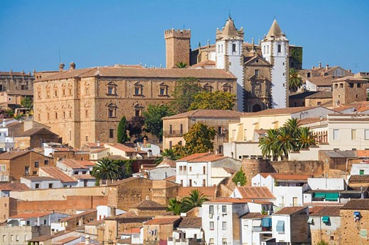 Stock Photo: 1566-401682 Caceres. Extremadura. Spain