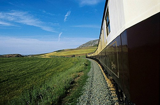 Al Andalus Express Train. Andalusia, Spain. : Stock Photo