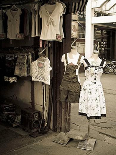 Stock Photo: 1566-404633 Shop window. China.