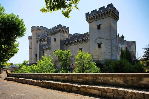 Stock Photo: 1566-405192 King Rene's castle, Chateau du Roi René. Tarascon. Bouches-du-Rhone. Provence-Alpes-Côte d'Azur. France.