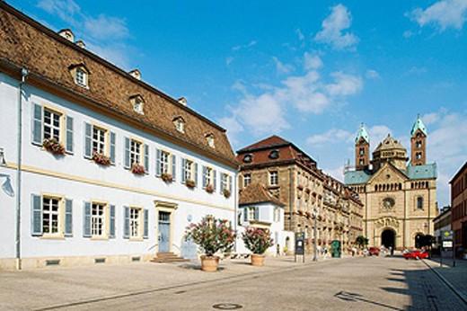 Germany. Rhineland-Palatinate. Speyer. Cathedral : Stock Photo