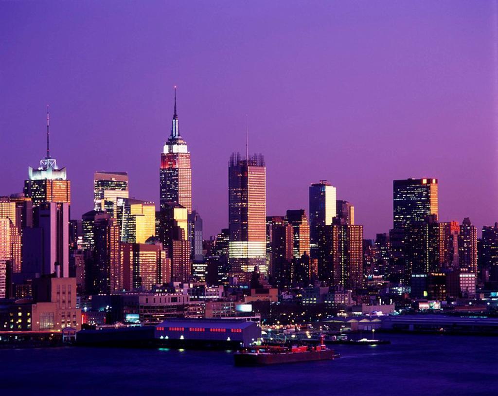 Stock Photo: 1566-407359 Midtown Manhattan, NYC, USA